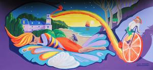 Chrysalis Dreaming mural